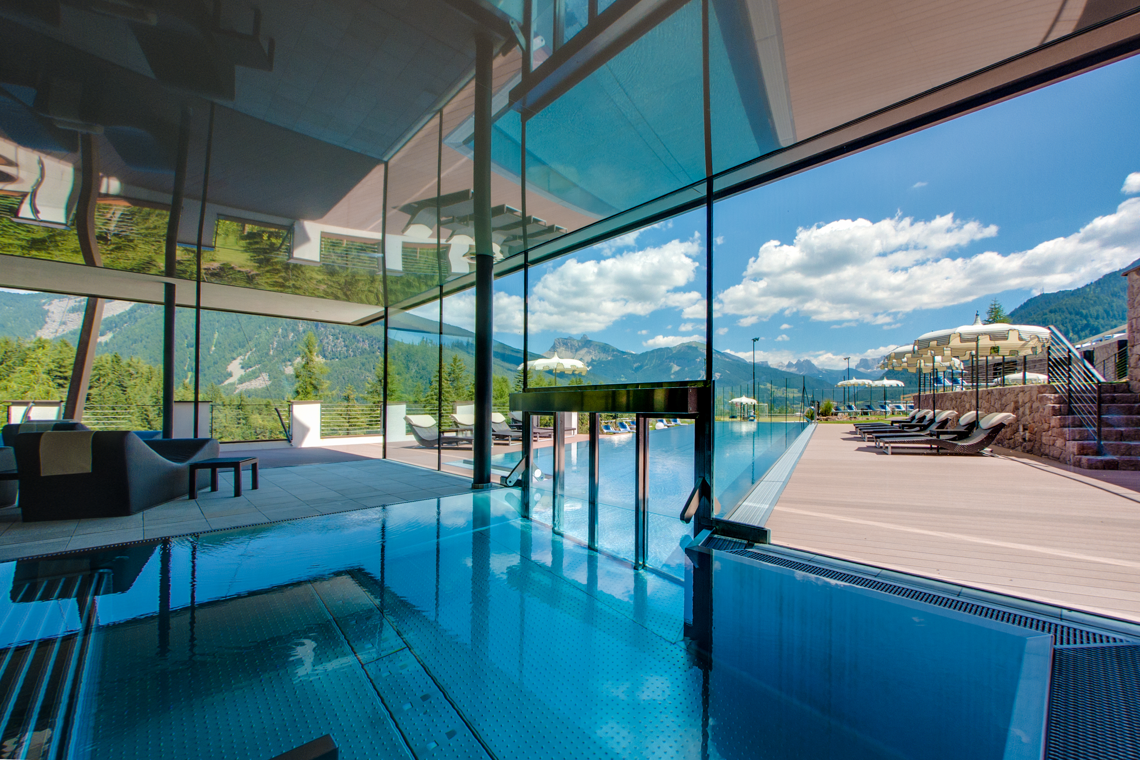 Stampa hotel albion s in val gardena - Hotel piscina valle aurina ...