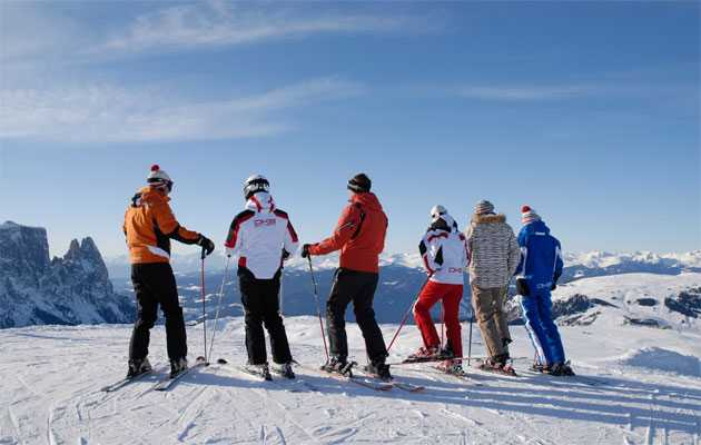 Ski in the Dolomites - UNESCO World Heritage